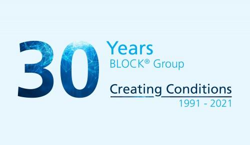 Obrázek k aktualitě 30th anniversary BLOCK® Group